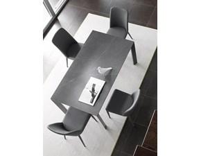 Tavolo in ceramica rettangolare Galileo Friulsedie a prezzo ribassato