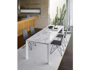 Tavolo in ceramica rettangolare Galileo Friulsedie in offerta outlet