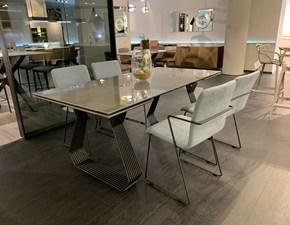Tavolo in ceramica rettangolare Gateway Zamagna a prezzo scontato