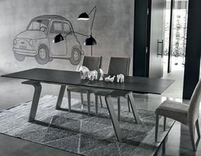 Tavolo in ceramica rettangolare Hercules di mottes mobili  Artigianale a prezzo scontato