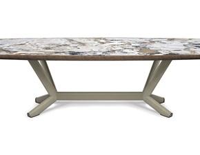 Tavolo in ceramica sagomato Planer keramik premium Cattelan a prezzo ribassato
