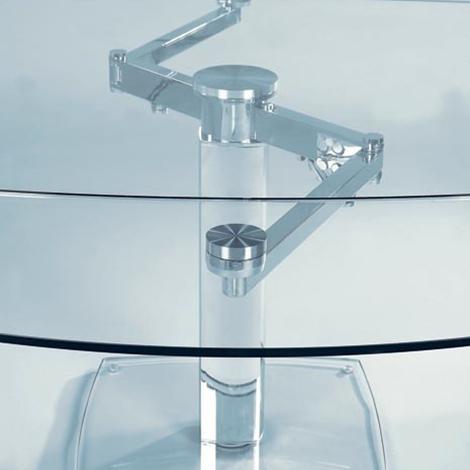 Tavolo in cristallo allungabile advance in offerta tavoli a prezzi scontati - Tavolo cristallo allungabile ...
