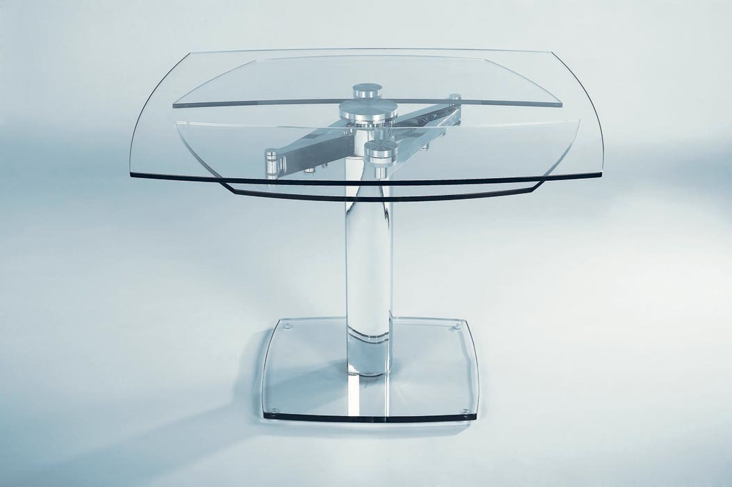 Tavolo in cristallo allungabile advance in offerta tavoli a prezzi scontati - Tavoli in cristallo prezzi ...
