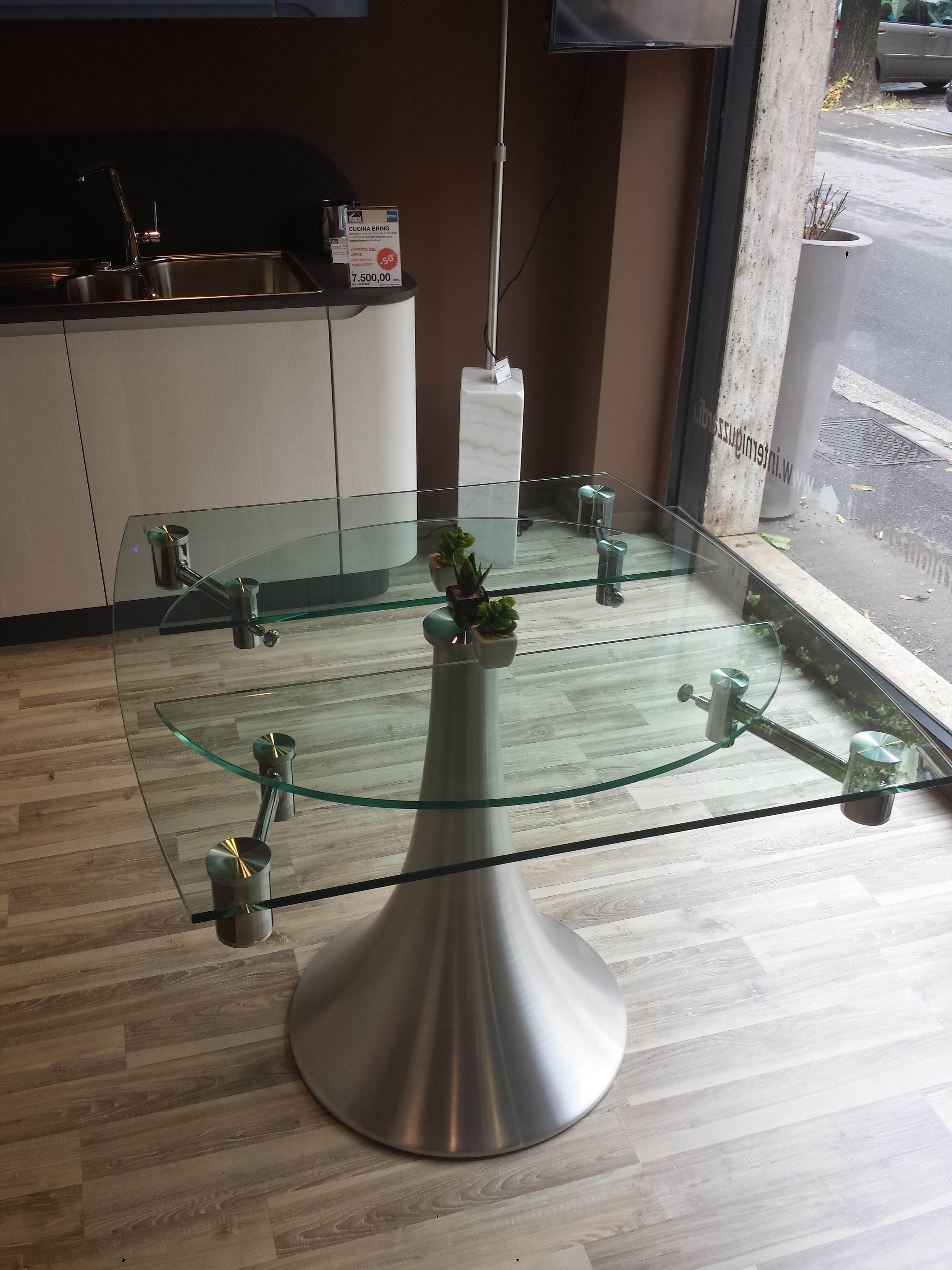 Tavolo in cristallo allungabile tavoli a prezzi scontati for Tavolo cristallo