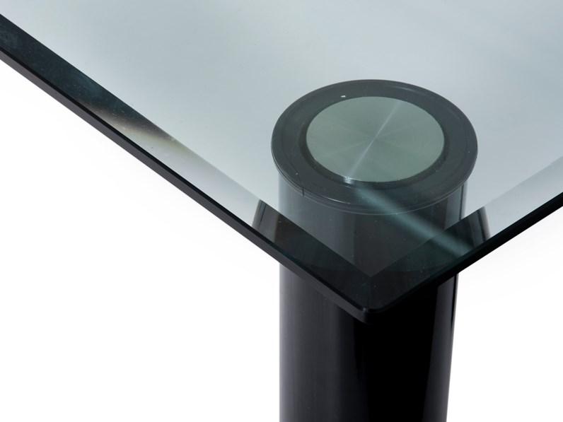 Tavoli In Cristallo Prezzi.Tavolo In Cristallo Rettangolare Brentano 90x200x72 Zanotta A