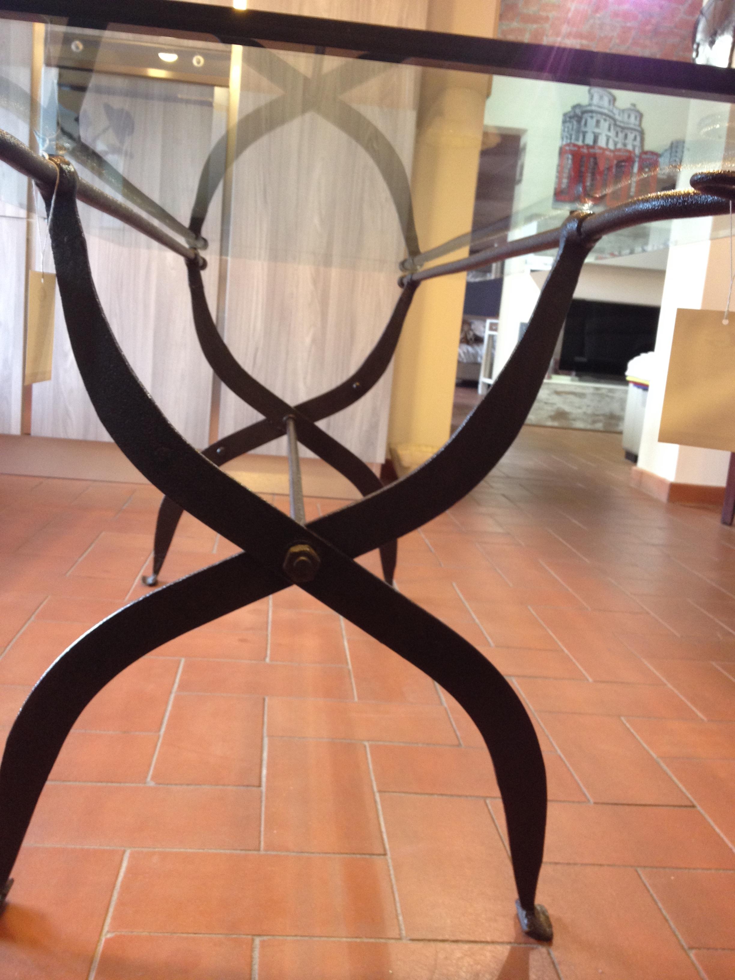 Tavolo in cristallo scontato tavoli a prezzi scontati - Tavolo cristallo rettangolare usato ...