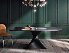 Tavolo in laccato ovale Matrix Max home a prezzo ribassato
