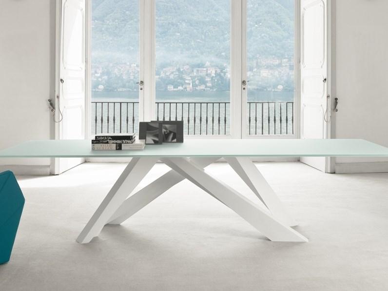 Tavolo in laccato rettangolare big table di bonaldo a for Emporium arredamenti
