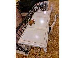 Tavolo in laccato rettangolare Retro' Artigianale a prezzo ribassato