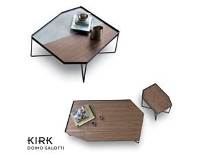 Tavolo in laccato sagomato Kirk Doimo salotti a prezzo ribassato