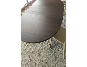 Tavolo in laminato ovale Giove Connubia a prezzo ribassato