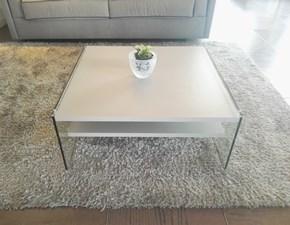Tavolo in laminato quadrato Maxim Natuzzi in Offerta Outlet