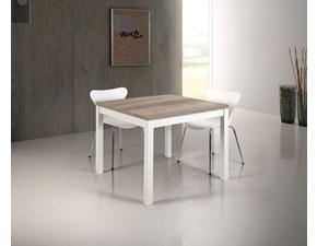 Tavolo in laminato quadrato Modello edera Artigianale a prezzo ribassato