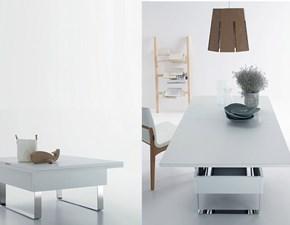 Tavolo in laminato quadrato Trasformabile piccolo Sedit in Offerta Outlet
