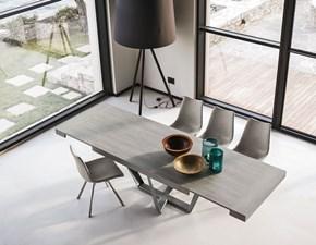 Tavolo in laminato rettangolare Apollo 180 Mottes selection in offerta outlet