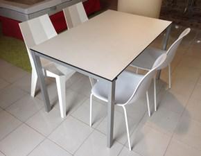 Tavolo in laminato rettangolare Be easy Kristalia a prezzo ribassato