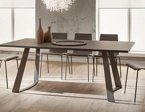 Tavolo in laminato rettangolare Bruno fenix 200x100 di La primavera in Offerta Outlet