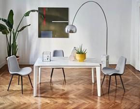 Tavolo in laminato rettangolare Diamante  Midj in offerta outlet