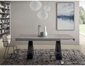 Tavolo in laminato rettangolare Gateway Zamagna in offerta outlet