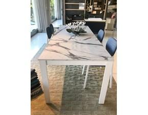 Tavolo in laminato rettangolare Ginko Scavolini in offerta outlet