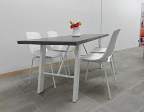 Tavolo in laminato rettangolare Industrial Stosa cucine a prezzo ribassato