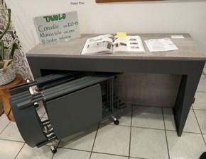Tavolo in laminato rettangolare Marvel plus+sedie piper Pezzani a prezzo scontato
