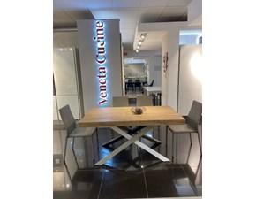 Tavolo in laminato rettangolare Modus +4 sedie Friulsedie in offerta outlet