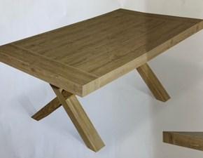 Tavolo in laminato rettangolare Parigi di Artigiani veneti a prezzo ribassato