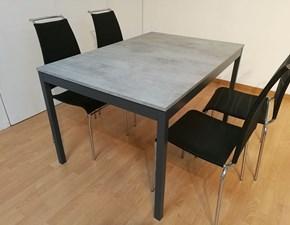 Tavolo in laminato rettangolare Snap Connubia a prezzo ribassato