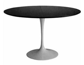 Tavolo Rotondo Vetro E Acciaio.Offerte Di Tavoli Rotondi Allungabili A Prezzi Outlet