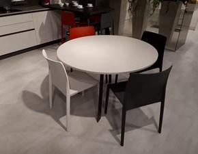 Tavolo in laminato rotondo Upper round Artigianale a prezzo scontato
