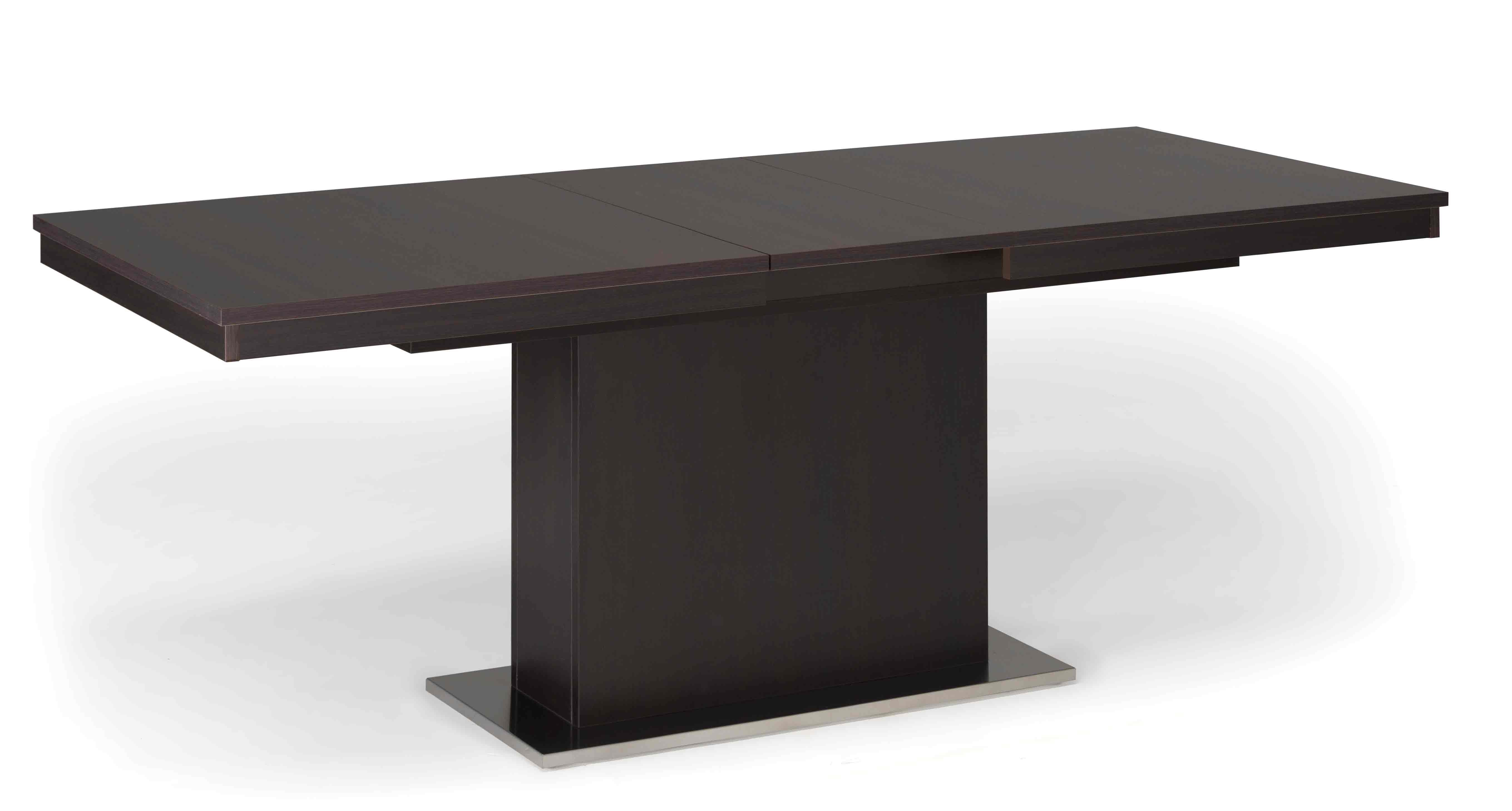 Tavolo in legno allungabile con gamba centrale malaga - Tavolo fratino moderno ...