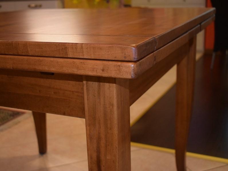 Tavolo in legno allungabile quadrato for Tavolo di legno allungabile