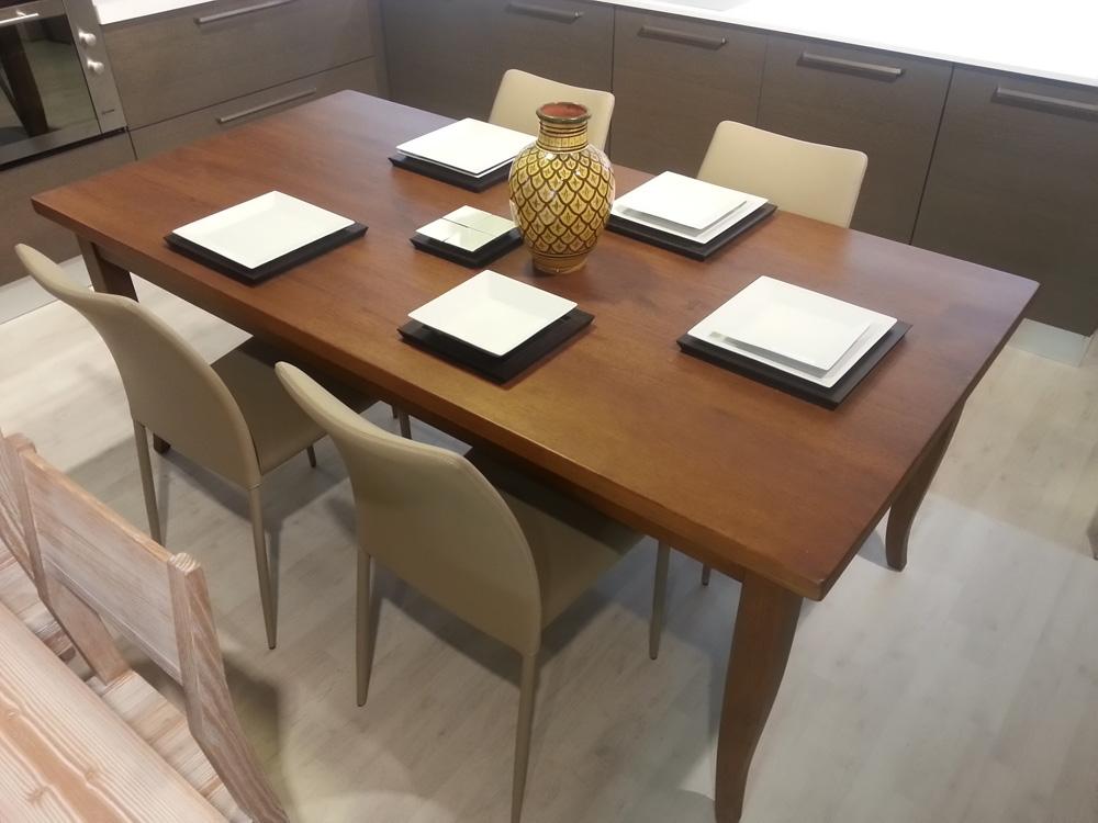 Zanotto tavolo artigianale rettangolari fissi legno for Tavoli di design outlet