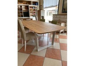 Tavolo in legno ellittico Mod briccola venexia l250 Collezione esclusiva a prezzo scontato