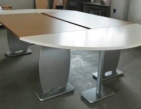 Tavolo in legno ellittico Tavolo da riunioni  Mirandola in offerta outlet