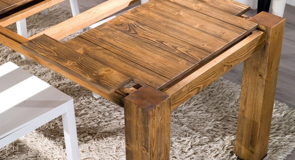Tavolo allungabile in legno in promozione scontato del 43 for Tavolo 120x80