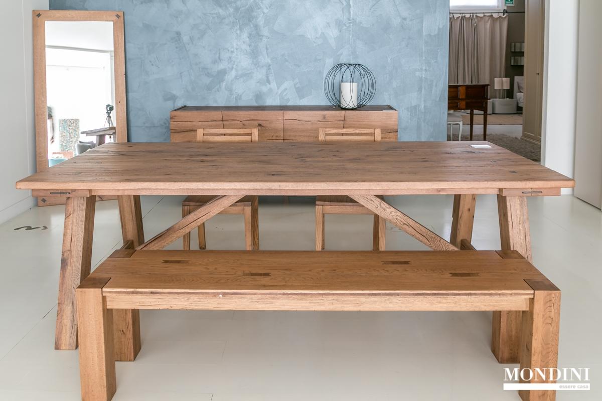 Tavolo in legno massello devina nais scontato del 28 for Tavoli estensibili in legno