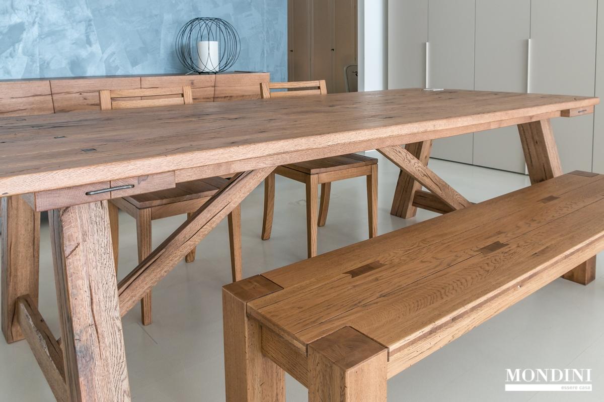 Tavolo in legno massello devina nais scontato del 28 for Tavolo legno massello prezzi