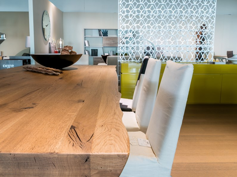 Tavolo in legno massiccio artigianale scontato del 24% - Tavoli a ...