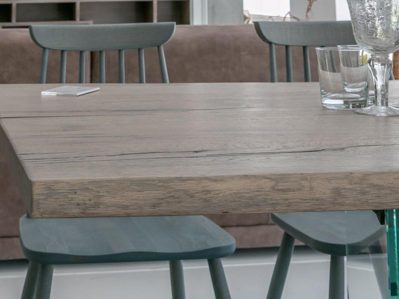Tavolo in legno massiccio artigianale scontato - Tavoli in legno massiccio ...