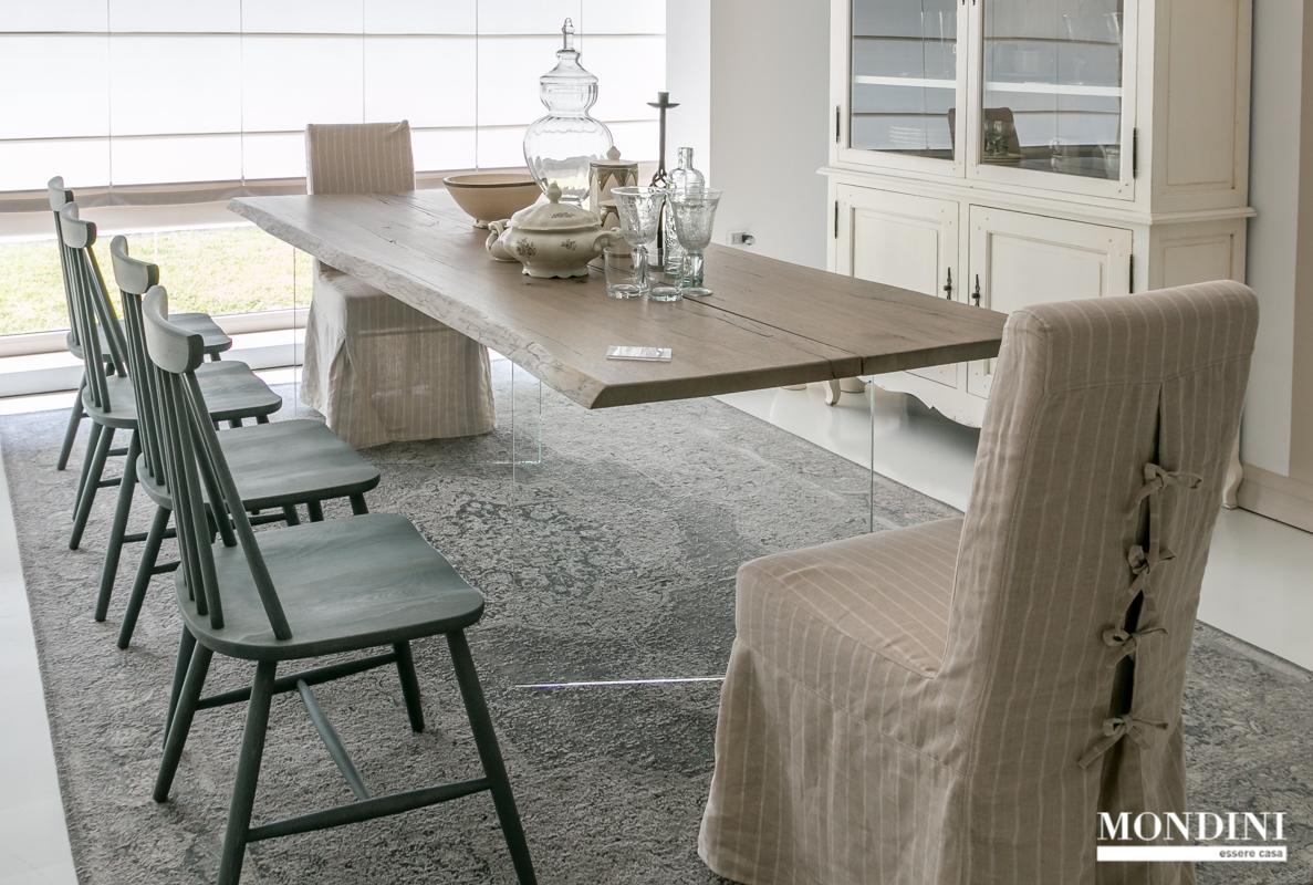 Tavolo in legno massiccio artigianale scontato tavoli a - Tavoli in legno prezzi ...