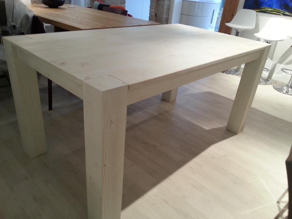 Tavolo in legno mirandola outlet tavoli a prezzi scontati for Outlet tavoli moderni allungabili