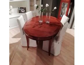 Tavolo in legno ovale 155/a La quercia in Offerta Outlet