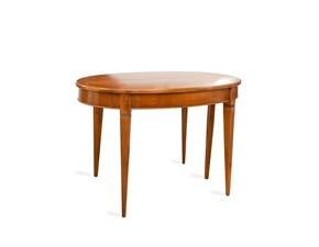 Tavolo in legno ovale Ovale Artigianale a prezzo ribassato