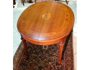 Tavolo in legno ovale Ovale piccolo Artigianale in offerta outlet