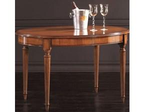 Tavolo in legno ovale Ovalino inglese Lion's a prezzo ribassato