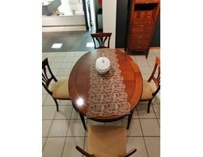 Tavolo in legno ovale Tavolo - 4 sedie Origine a prezzo ribassato