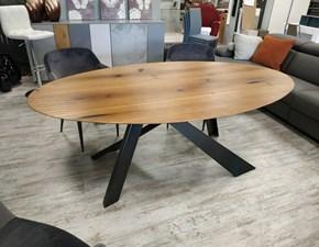 Tavolo in legno ovale Tavolo ovale 200x110 legno massello Creazioni artistiche fiorentine in Offerta Outlet