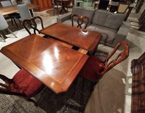 Tavolo in legno quadrato Art. 154/b Decor art in offerta outlet